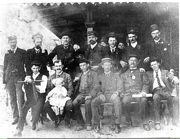 Wollongong Rail Staff 1895